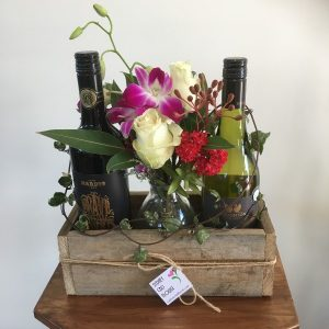 Wines and flowers